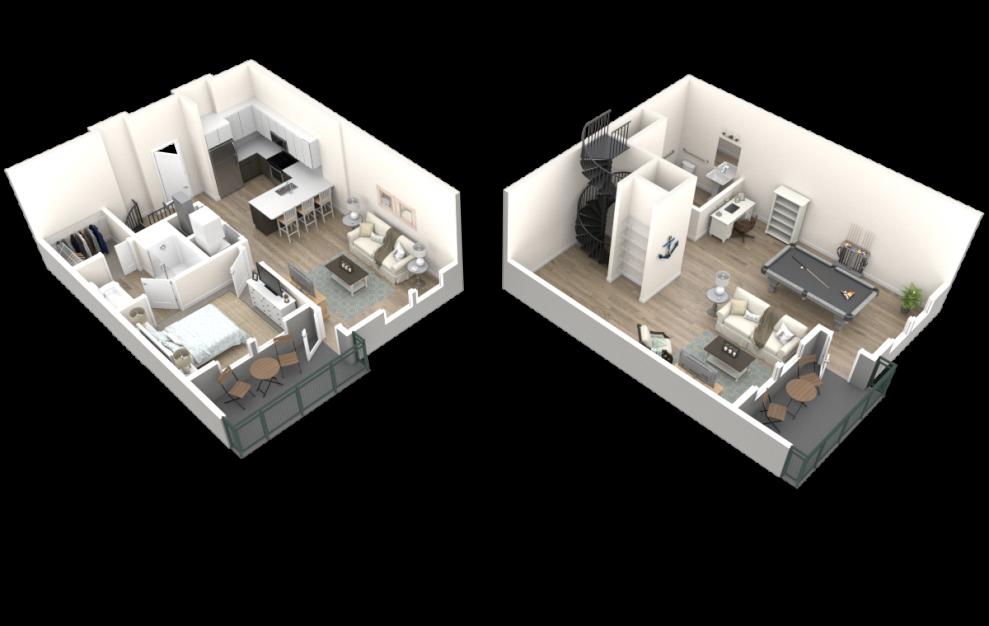 The Jackson (LW1) Floorplan 3D